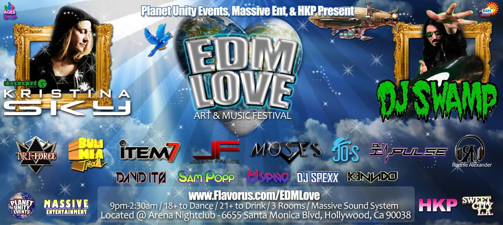 EDM Love @ Arena Nightclub